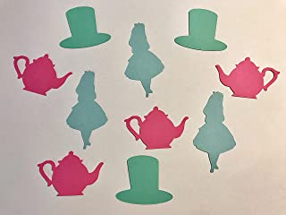 Alice in Wonderland, Mad Hatter, Teapot Party Confetti