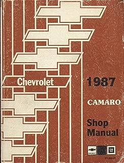1987 Chevy Camaro Repair Shop Manual Original