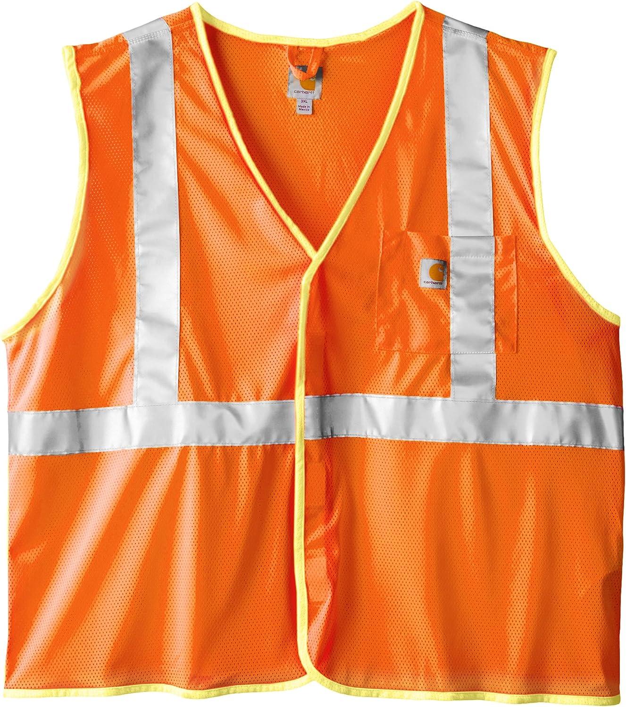 Carhartt Men's Big & Tall High Visibility Class 2 Vest