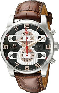 Lucien Piccard Men's LP-40045-01-RA Bosphorbus Analog Display Japanese Quartz Brown Watch