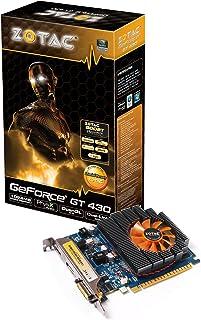 Zotac ZT-40602-10L GeForce GT 430 1GB GDDR3 - Tarjeta gráfica (GeForce GT 430, 1 GB, GDDR3, 128 bit, 2560 x 1600 Pixeles, PCI Express x16)