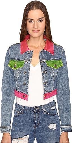 Multi Clear Denim Jacket