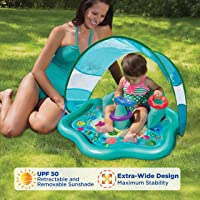 SwimSchool Baby Splash Mat with Removable Canopy
