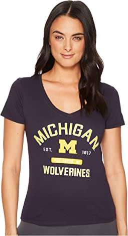 Michigan Wolverines University V-Neck Tee