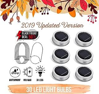 Best solar hanging mason jars Reviews