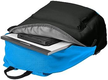 AmazonBasics Everyday School Laptop Backpack - Black