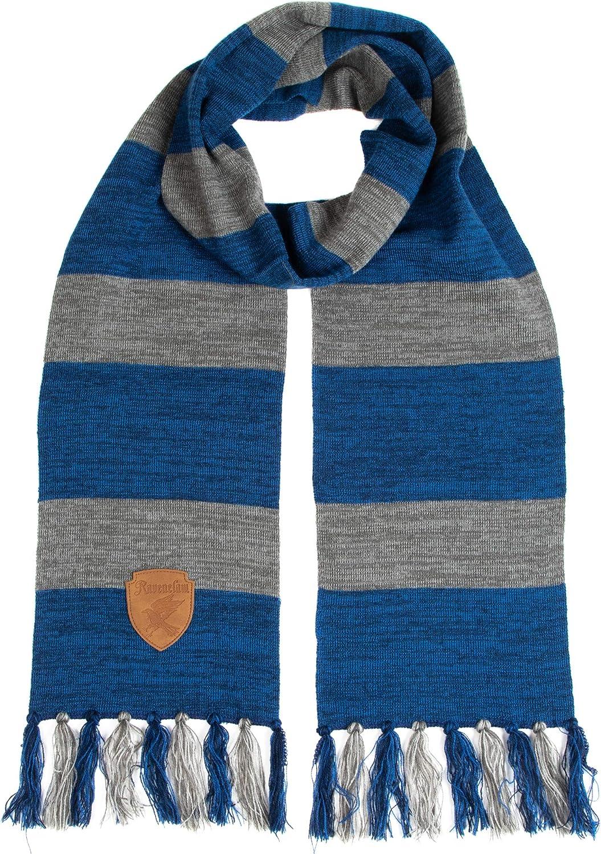 Harry Potter Ravenclaw Premium Knit Luxury goods Patch Emblem Scarf with Sale price