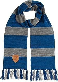 Ravenclaw Knit Scarf with Patch Emblem