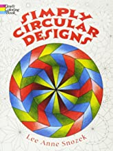 Simply Circular Designs Coloring Book (Dover Design Coloring Books)