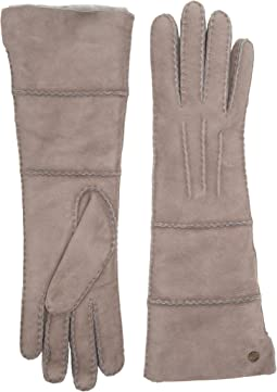 UGG - Long Pieced Sheepskin Gloves with Slim Pile