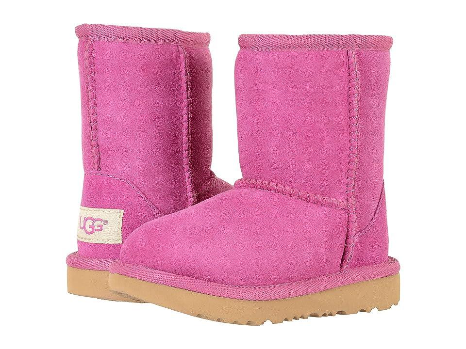 UGG Kids Classic II (Toddler/Little Kid) (Magenta Rose) Girls Shoes