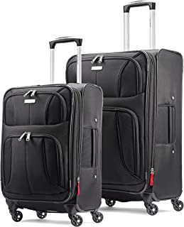 Aspire xLite Expandable Softside 2-Piece Luggage Set...