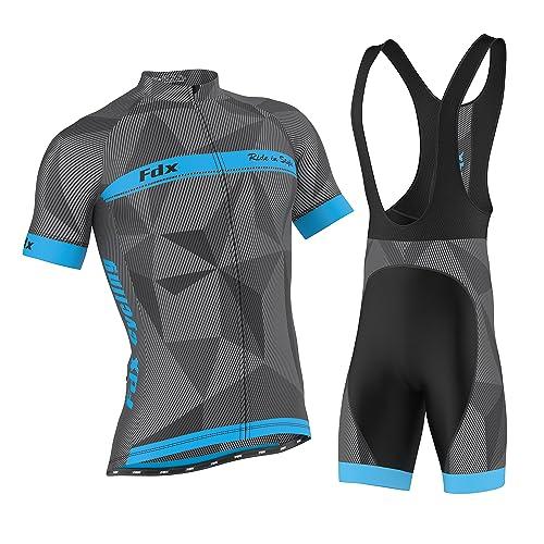 Mens Cycling Suits Cycling Jerseys /& Shorts Set Comfortable Stylish Cycling Clothing Set