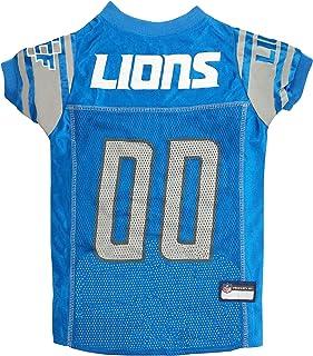 NFL DET-4006-LG DETROIT LIONS DOG Jersey, Large