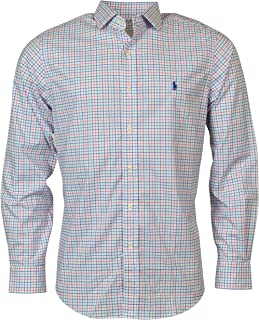 Polo Ralph Lauren Men's Cotton Stretch Long Sleeve Button Down Shirt