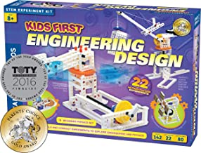 Kids First Engineering Design Physics Lab Science Kit | Parents' Choice Gold Award Winner | Toy of The Year Award Finalist | STEM Experiments