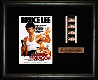 Bruce Lee - The Way of the Dragon - Framed filmcell picture