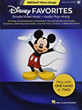 Disney Favorites - Instant Piano Songs: Simple Sheet Music + Audio Play-Along