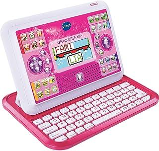 VTech Genio Little App, Juguete para aprender en casa, ordenador tablet educativo para jugar en dos modos distintos, 80 ac...
