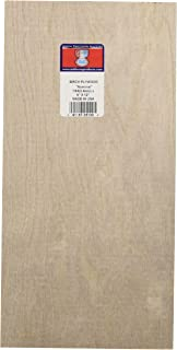 Midwest Products 5120 Birch Plywood, 1/64 x 6 x 12-Inch