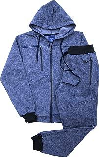 Royal Threads Canada Men's Warm Winter Tech Fleece Sweat Jacket Sweatpants Jogger Outfit