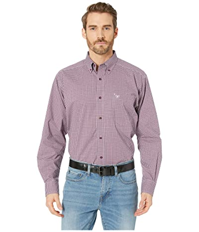 Ariat Doug Stretch Shirt (Purple Dahlia) Men
