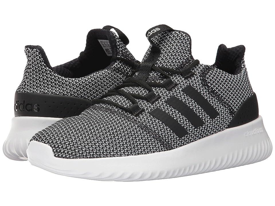 adidas Cloudfoam Ultimate (Core BlackCore BlackFootwear White) Men's Running Shoes