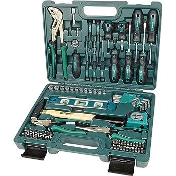 Brüder Mannesmann Werkzeuge 87 piezas) maletín de herramientas, 1 pieza, m29084: Amazon.es: Bricolaje y herramientas