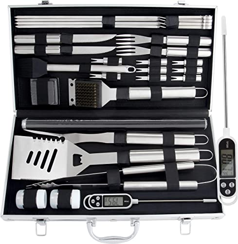 ROMANTICIST-28pc-BBQ-Accessories-Set-with-Thermometer