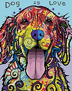 Dogs Painting On Canvas Puppies In A Basket Paint By Your Own DIY Kit Oil Wall Art Decoration Cute Puppies Paint By Numbers For Adults Beautiful Acrylic