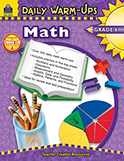 Best math warm up 6th grade Reviews