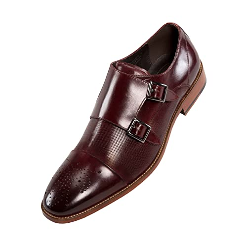 361b1ec61e2 Double Monk Dress Shoe  Amazon.com