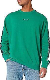 Champion Seasonal American Tape Crewneck Sweatshirt Homme