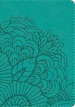 NVI Biblia Compacta Letra Grande aqua, símil piel (Spanish Edition)