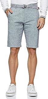 Giordano Men's 1108207 Cotton Linen Shorts
