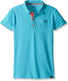 Jack Wolfskin Girl's Pique Polo Shirt