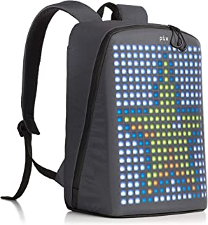 led pixel backpack