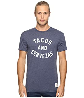Short Sleeve Heathered Tacos and Cervezas Tee