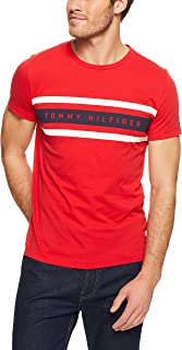 TOMMY HILFIGER Men's Logo Band Graphic Tee