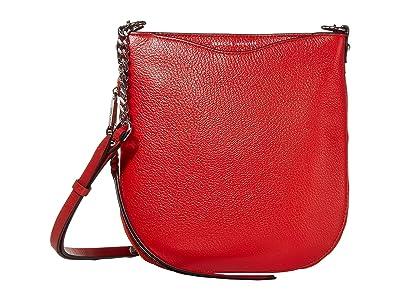 Rebecca Minkoff Emma Swing Crossbody (Tomato) Handbags