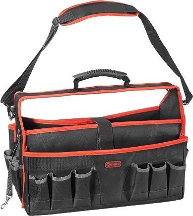 Connex Nagel- /& Werkzeugtasche 5 F/ächer Mit G/ürtelschlaufe Pflegeleicht//Werkzeugtasche f/ür den G/ürtel//G/ürteltasche//Nageltasche // COX952079 Aus Polyester