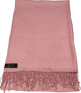Solid Color Design Nepalese Shawl Scarf Wrap Stole Throw Pashmina CJ Apparel NEW