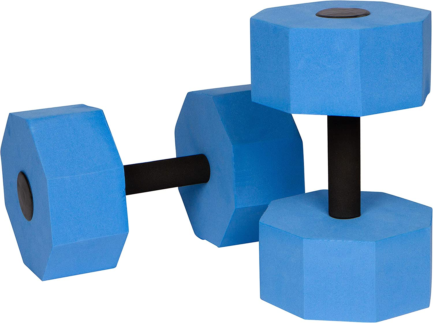 Trademark Innovations Aquatic Our shop OFFers the best service Exercise Low price Dumbells of Foam - Set 2