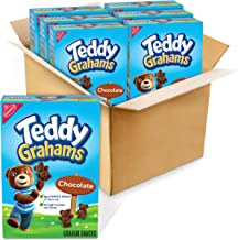Teddy Grahams Chocolate Graham Snacks, 6 - 10 oz boxes