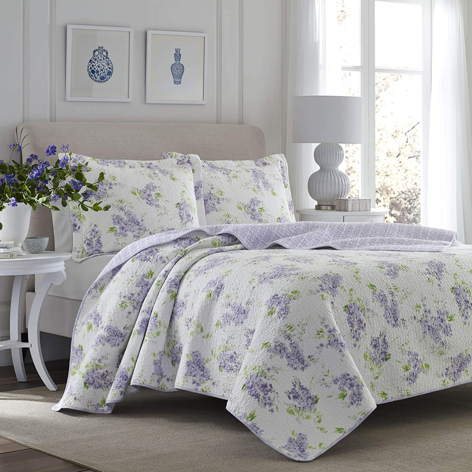 Seasonal Wrap Introduction Laura Recommendation Ashley Home - Keighley Cotto 100% Quilt Set Collection