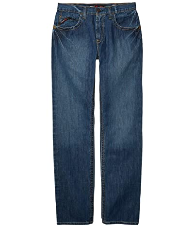 Ariat FR M3 Basic Stackable Straight Leg Jeans in Flint (Flint) Men