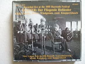 Wagner: Der Fliegende Hollander (The Flying Dutchman) [Bayreuth 1955: Astrid Varnay; Hermann Uhde, Wolfgang Windgassen, Josef Traxel, Ludwig Weber; Hans Knappertsbusch] [Reissued officially on Orfeo d'Or in conjunction with the Bayreuth Festival]