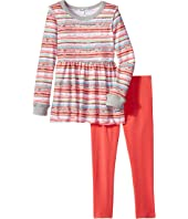 Splendid Littles Stripe Print Sweater Set (Little Kids)