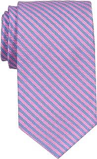 Peter-Blair Men's Pink Creigh 100% Silk Woven Tie Handmade in USA (39CRP7)
