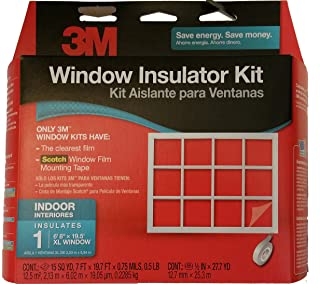 3M Window Insulator Kit, Indoor, 1 XL Window - 6'8